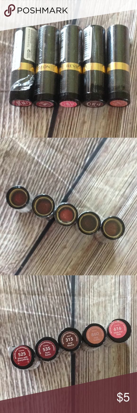 New Revlon Lipstick Brand new sealed (525 has damaged seal but never used!)  Rev…