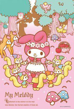 Amazon.co.jp: マイメロディ 108マイクロピース マイメロディ「白雪姫」 M108-151: おもちゃ