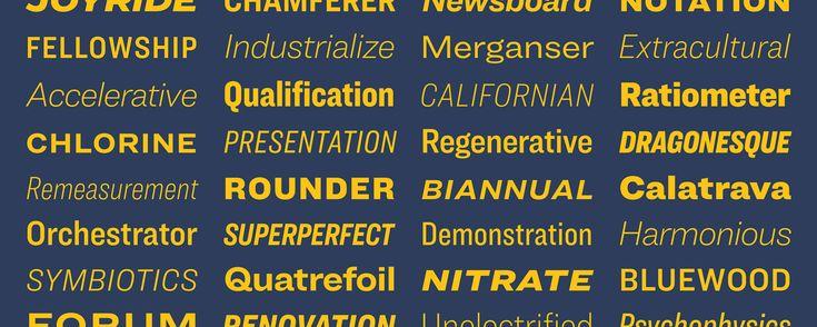 Ringside Fonts | Hoefler & Co.