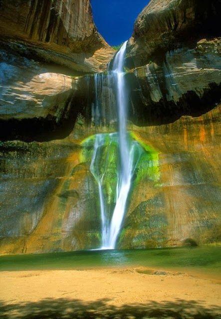Calf Creek Falls, Utah | Fantastic Materials