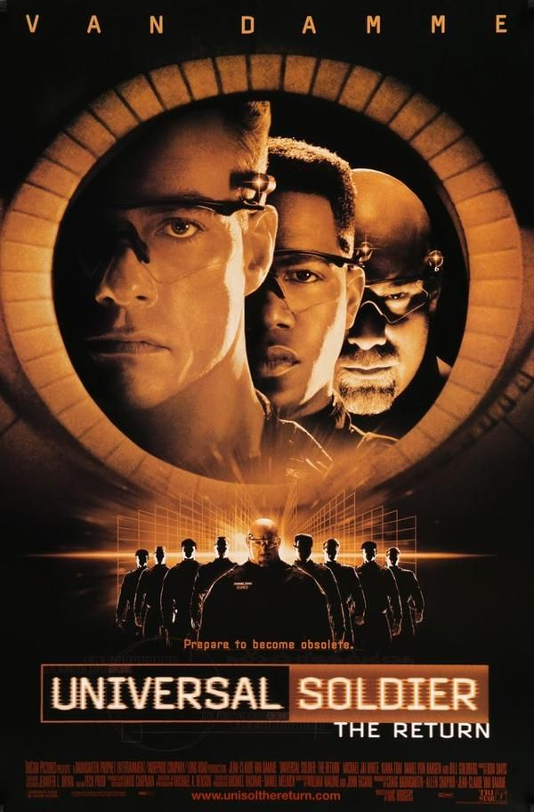 Universal Soldier The Return 1999 With Images Soldier