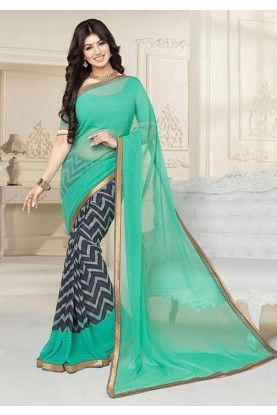 Buy Bollywood sarees online by top designers working in the industry. Shop for best fashion sarees for wedding functions and parties. Get trending patterns.