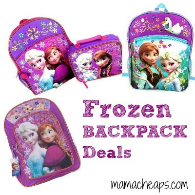 FROZEN Backpack Deals Round Up for Back to School