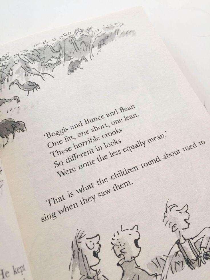 Inside // The Fantastic Mr Fox // Roald Dahl