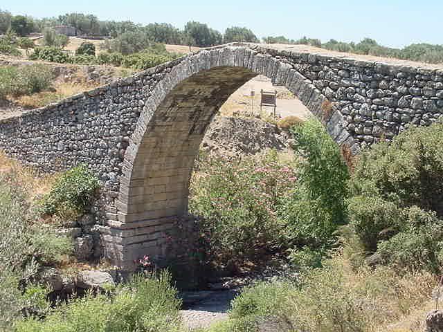 Kremasti Bridge, Agia Paraskevi, Lesvos