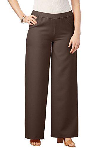 fae0bcfc81a Fashion Bug Women s Plus Size Bend Over Wide Leg Pants www.fashionbug.us   plussize  fashionbug  pants