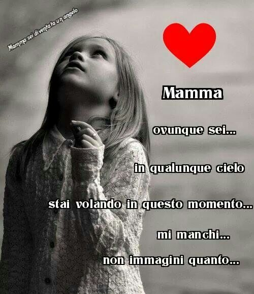 Mamma mi manchi