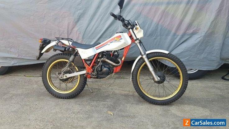 Motorcycle for Sale honda 1986 tlr 200 dual purpose