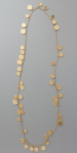 Cool, but not for $200. Authentic House of Harlow 1960 Long Coin Necklace