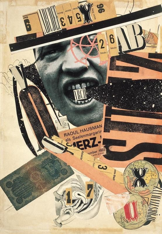 Raoul Hausmann, ABCD, 1923-24, Pompidou, Paris