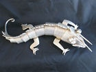 Articulated silver chameleon crafted in Mexico by silver masters in the 50s    Buy on ebay: Chameleons Crafts, 50S Buy, Silver Master, Irresist Object, Articulation Silver, Magnific Seduction, Silver Chameleons