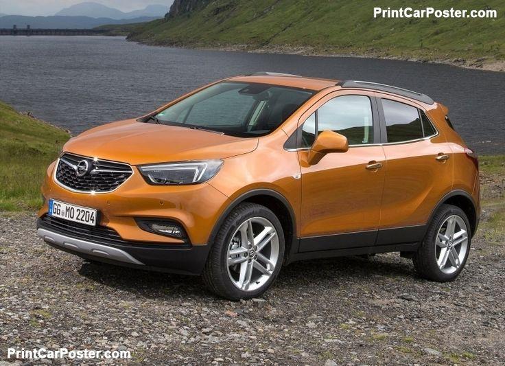 Opel Mokka X 2017 poster, #poster, #mousepad