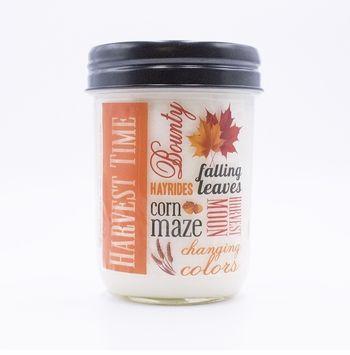 NEW! - Autumn Ivy & Pear 12 oz. Harvest Vintage Jar Swan Creek Candle (Label: Harvest Time)