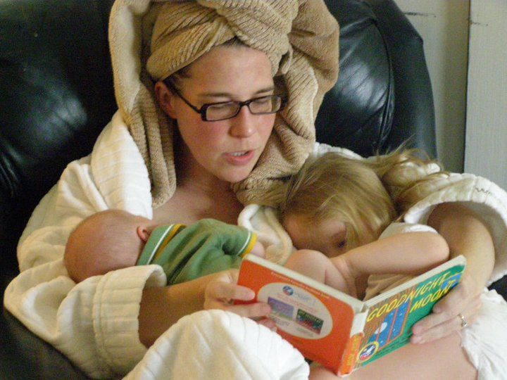 """""""The Best Parenting Advice I Ever Received Wasn't Spoken.""""  This is a beautiful story."""