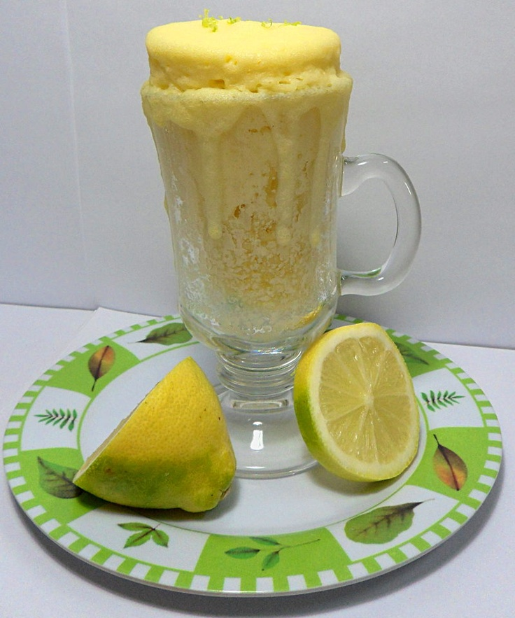My Cupcake Diet !: Emergency lemon cupcake (a lemon cupcake in 5 minutes with micro wave !). Awesome! I used almond flour and applesauce to sub out flour and oil