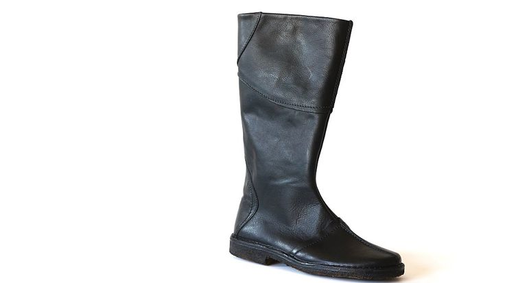 Gina boots natural leather black #ecological and #ethical #shoes