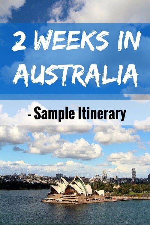 2 Weeks in Australia: Sample Itinerary - FreeYourMindTravel