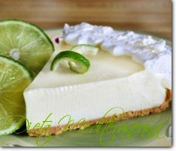 Tarta cu crema de iaurt grecesc si lime