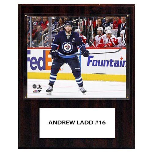 C and I Collectables NHL 15W x 12H in. Andrew Ladd Winnipeg Jets Player Plaque - 1215LADD