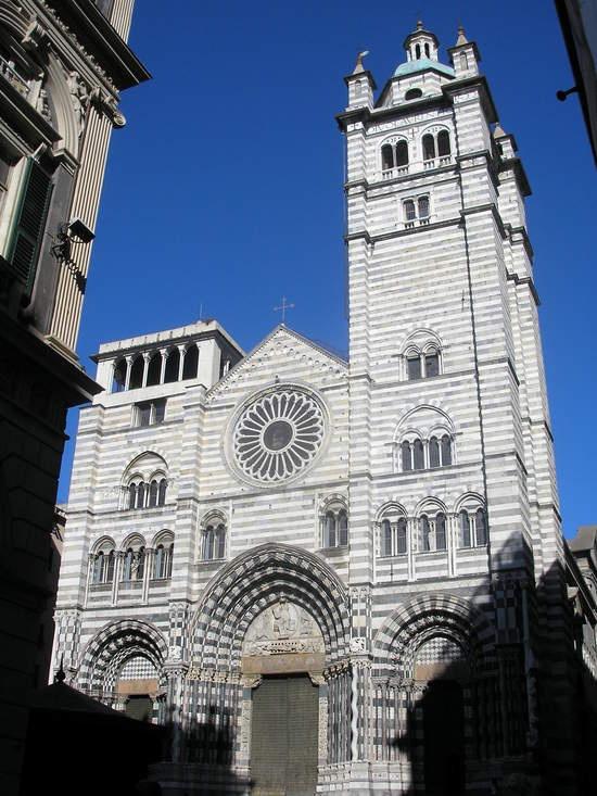 Cattedrale Di San Lorenzo, Genova, Italia