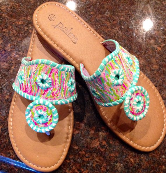 Girls' Sandals - for the little ones.... ;) par Miri Rog sur Etsy