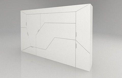 Uma caixinha engenhosa, assinada por Rolands Landsbergs para a Boxetti. 1...