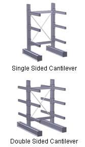 Cantilever Racks for Lumber Storage
