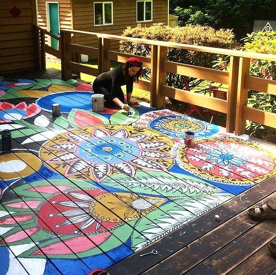Best 25 Floor art ideas on Pinterest Yoga studios Yoga studio
