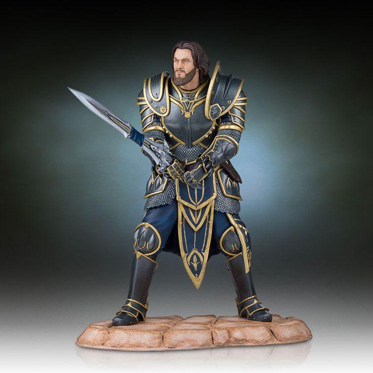 Warcraft+The+Beginning+statuette+Lothar+Gentle+Giant