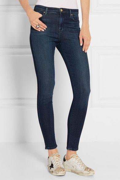 J Brand - Maria High-rise Skinny Jeans - Blue -