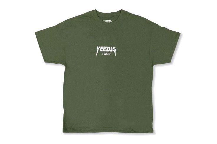 New Yeezus Tour Merchandise Available Online