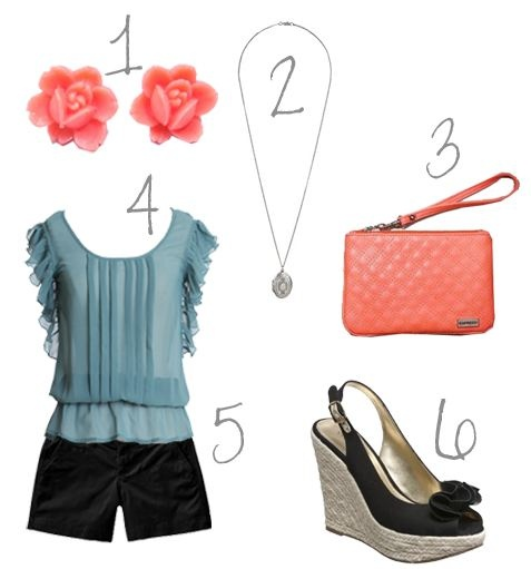 Cute outfit for the hot summer.