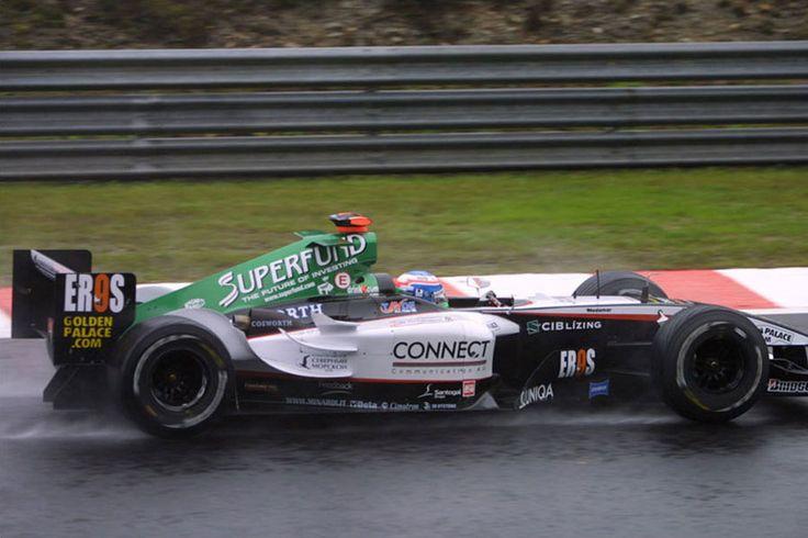 2004 GP Belgii (Spa Francorchamps) Minardi PS04B - Cosworth (Gianmaria Bruni)