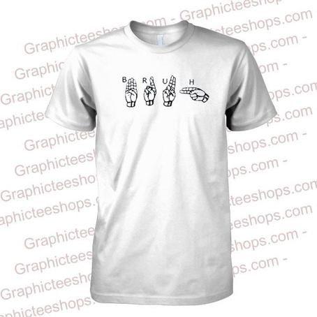 bruh hand T Shirt