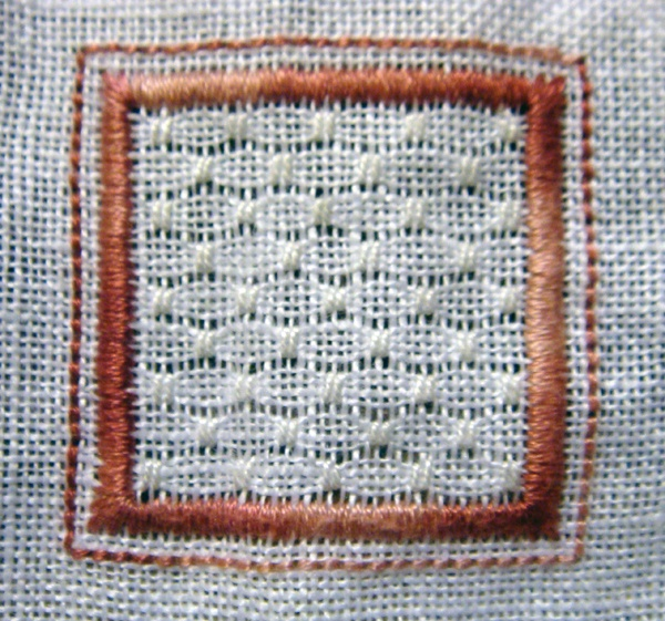 Whitework Embroidery: 2/15 Sided Biscornu - Free Patterns