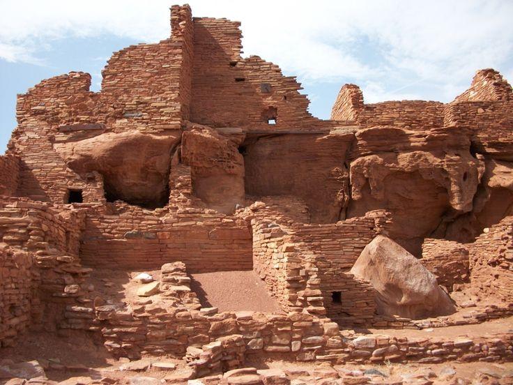 Wupatki National Monument, outside of Flagstaff AZ