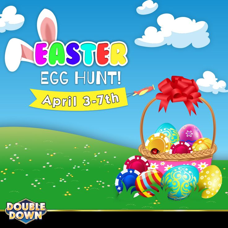 (EXPIRED) It's your last day to qualify for a big prize in our Easter Egg Hunt! If you still need to hit those bonus rounds, claim 200,000 FREE chips when you tap the Pinned Link (or use code MNFPTQ). You'll find the rules and full game list on our Facebook page!