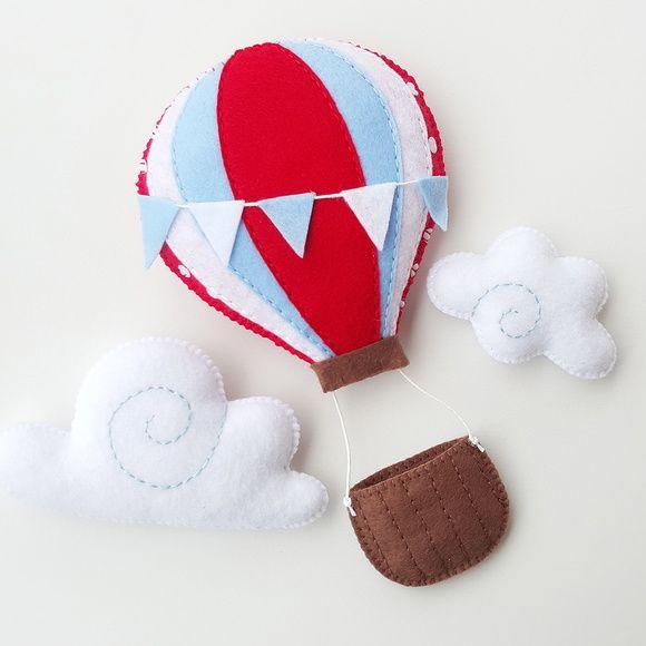 Guirlanda balão de ar quente