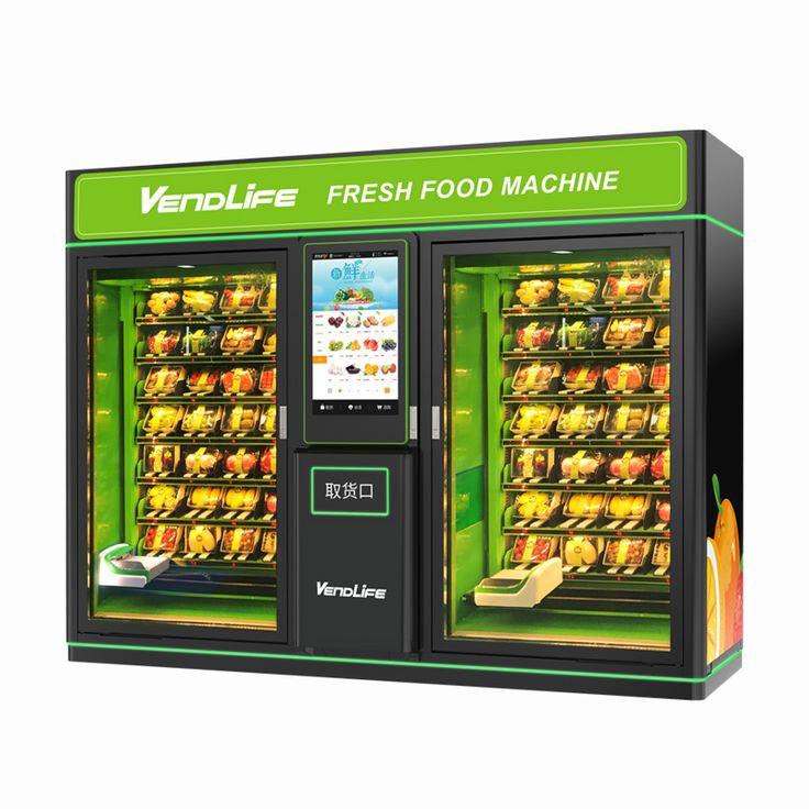 Double Fruit & Vegetable Vending Machine