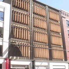 Diseño de persianas verticales