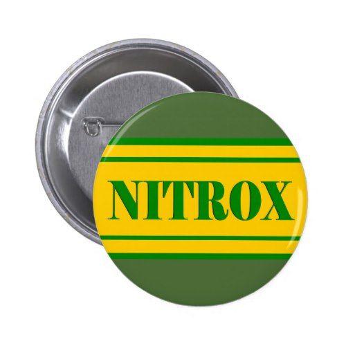 NITROX DIVING LOGO NITROX SCUBA DIVER - BUTTON