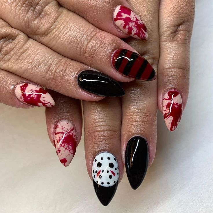 80 ideas to create the best Halloween nail decoration in ...