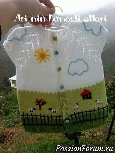 Вязание спицами. Идеи. Схемы. Часть2 - запись пользователя Марина в сообществе Вязание спицами в категории Вязание спицами для детей