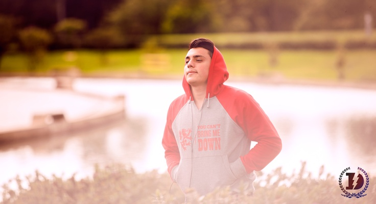 RED is our new favorite color for men hoodies!! Get this limited edition product at www.facebook.com/defeaterclothing or www.defeater.co