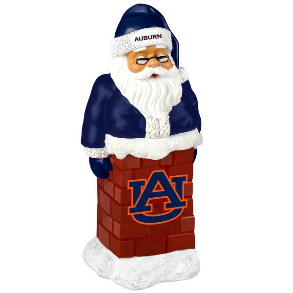 Auburn Tigers Santa With Chimney - $14.99