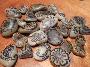 drawing on rocks with sharpies - Google Search