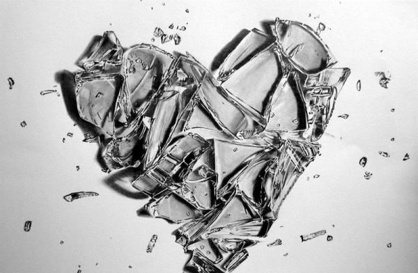 I am broken My pieces are shattered The broken pieces are like the petals of a rose or the white glass So delicate It hurts to see them lying with no meaning, no purpose...