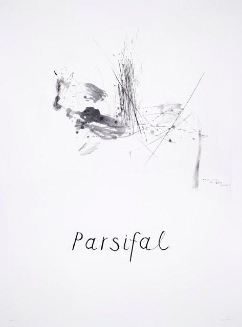 Parcifal III (2014). Edition of 20. Drypoint, Spitbite and Sugarlift Aquatint