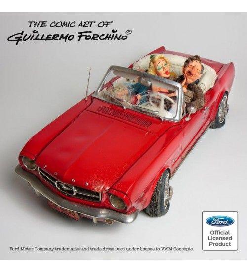 Forchino Biblo | Ford Mustang Büyük. Ford onaylı orijinal üründür. Sınırlı stok ve sertifikalıdır. El yapımı ve boyamasıdır. Koleksiyoner ürünü.