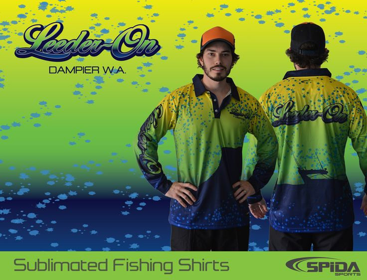 Get the look you want. Order your customised fishing tournament shirts through us now http://www.spidasports.com.au/sublimated-fishing-shirts/